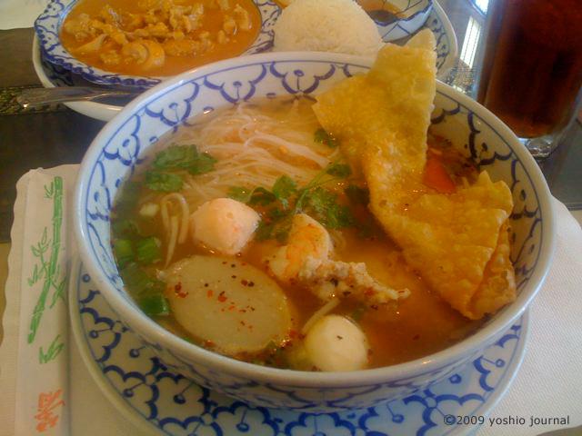 トムヤム・スープ・ヌードル | PRESIDENT THAI RESTAURANT