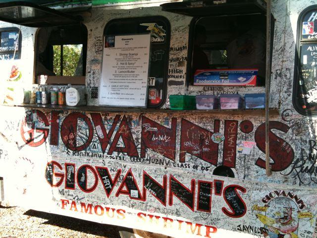 'Giovanni's Shrimp Truck'   ノースシュア