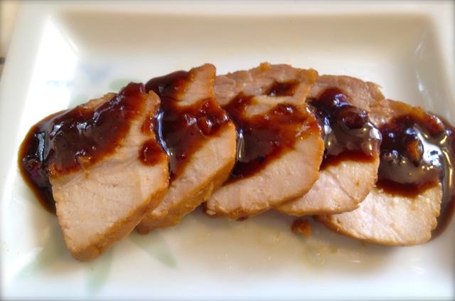 おっさんの〜Braised sweet pork belly 完成図
