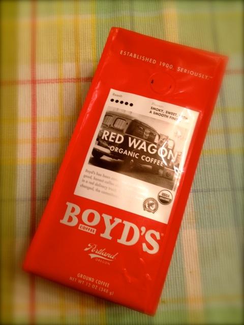 Red Wagon® Organic Coffee | Boyd's Coffee