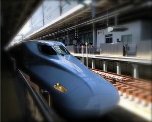 新幹線とおばさま軍団