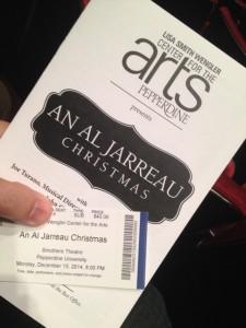"""An Al Jarreau Christmas"" at Pepperdine University"