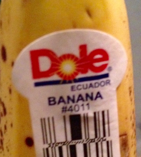ドールのバナナ