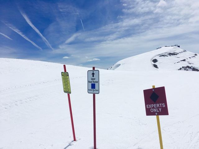 マンモス山で日帰り春スキー