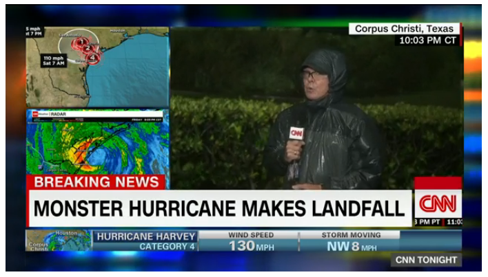 ハリケーン「ハーベイ」テキサス上陸〜ヒューストン在住の従姪(いとこの子)