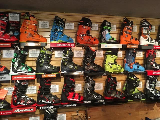 スキーブーツ店舗