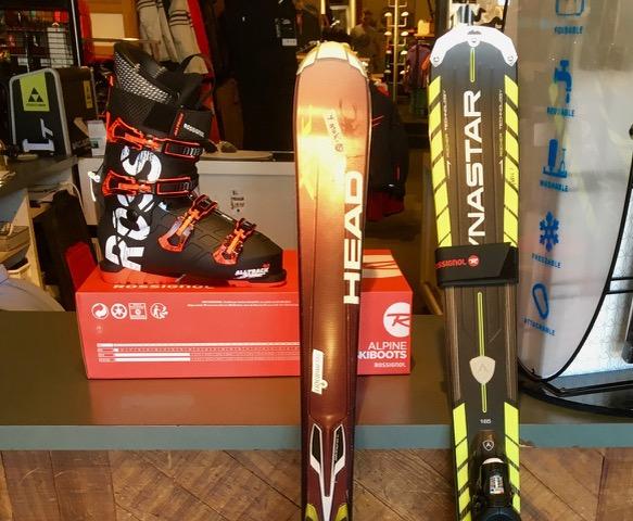 スキー板のメンテ完了