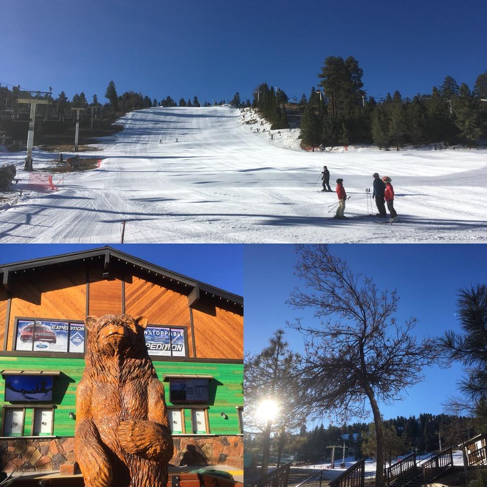 臨時スキー休暇。今週もビッグベアー(Snow Summit)へ。