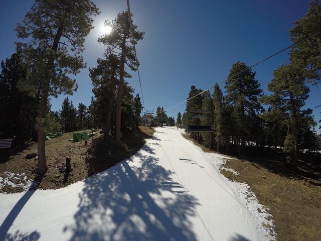 春のビッグベアー・スキー場
