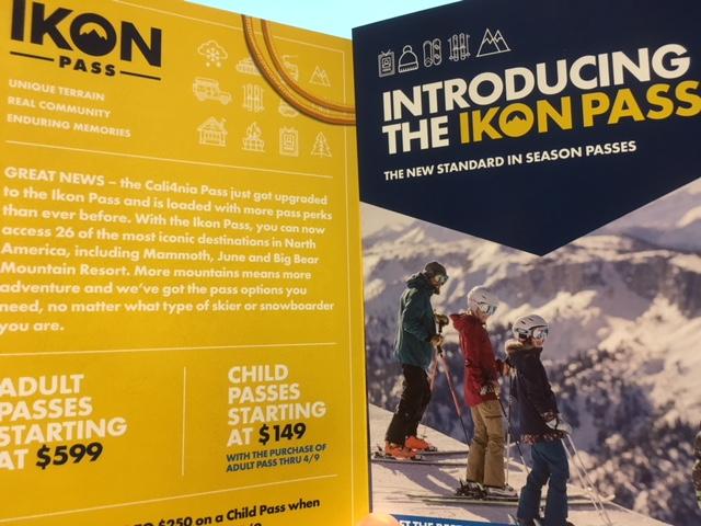 """来季のスキー・シーズンパスの名前は""""IKON-PASS"""""""