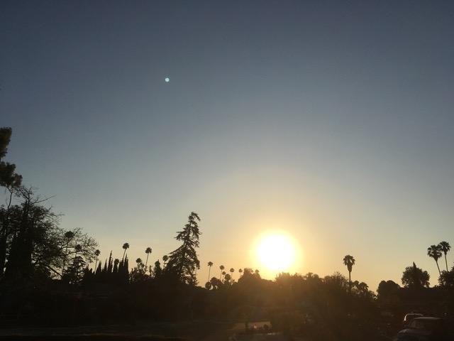 週明けから木曜日まで南カリフォルニアに熱波襲来