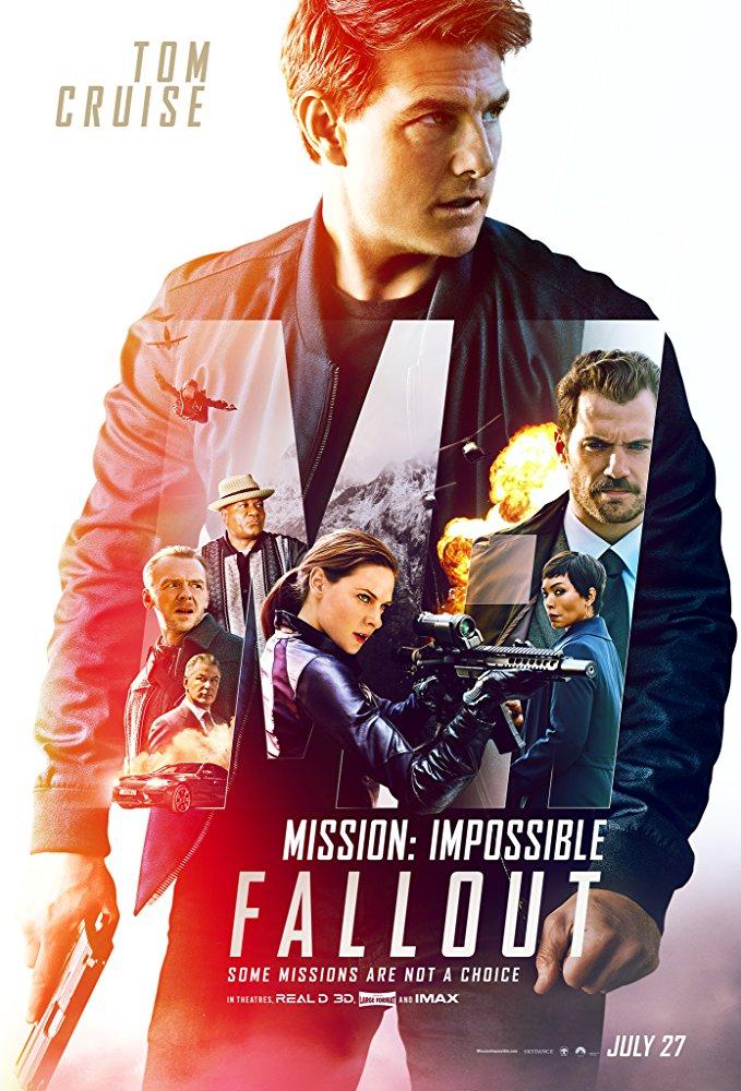 Eさん(トム・クルーズ)健在!映画:Mission: Impossible Fallout
