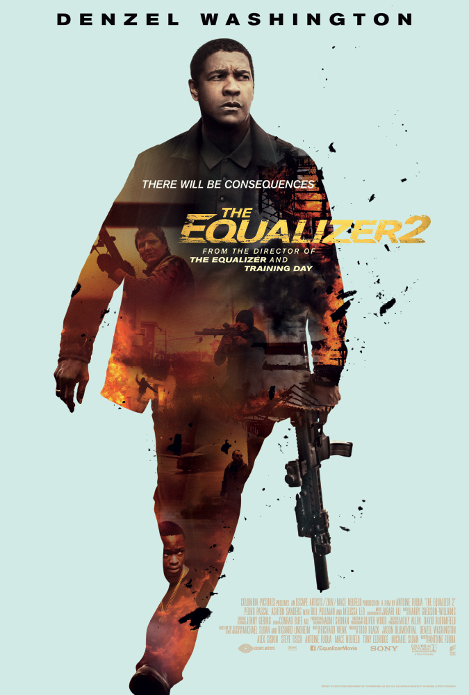 """映画 """"The Equalizer 2""""   もしも元CIAの凄腕エージェントが""""Lyft""""のドライバーだったら・・"""